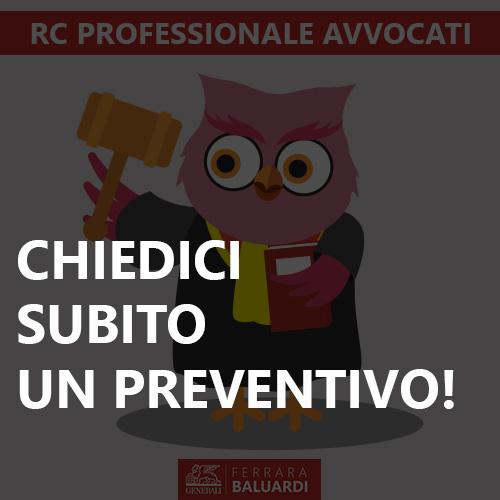 rc professionale avvocati